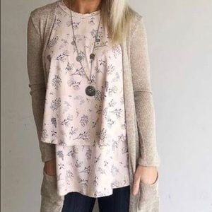 Light Pink Tunic Top